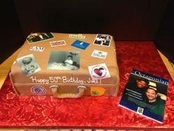 50th Birthday Life Journey Cake
