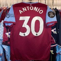 Michail Antonio worn NHS shirt.