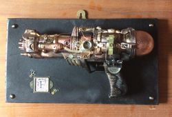 Steampunk style gun- wall decoration