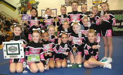 Champion Spirit mini cheer