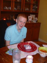 The Birthday Boy!  16 years old