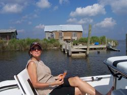 Michele on Wilkerson Canal