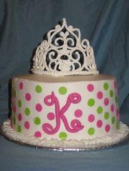 Baby Princess Cake