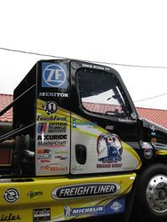 Mike Ryan's exhibition truck