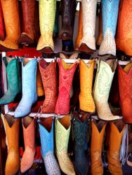 Boots in Chihuahua (Northern Mexico)