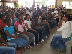 Our PP Girl's Conference -Wolmer's- Sept.. 2008