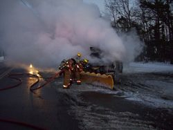 12/22/09 Lacey Twp Truck Fire