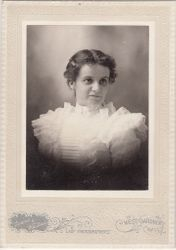 Clara Faustina Allen of Gardner, MA