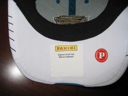2011 Blaine Gabbert Panini Autographed Personally Worn Rookie Draft Hat 1/1