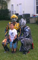Bumblebee and Megatron