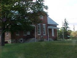 Marklesburg Normal School in Marklesburg Borough