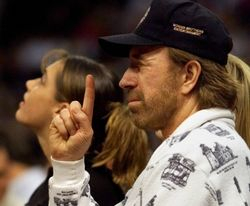 There's only One Chuck Norris