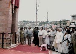 Opening Shri Guru Ravidass Gate Varanasi Kanshi, India