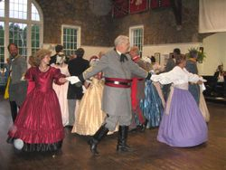 Revelers at the Sumter Ball