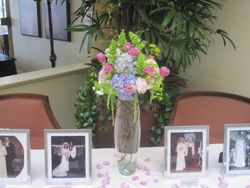 Flowers to adorn the family history table!