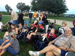 Group trip to see the Clarksville Indians