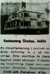 Hotell Lindstrom (Orehus) 1962