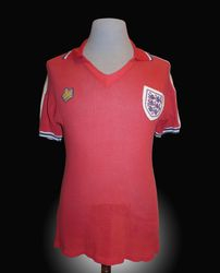 Admiral Match Worn England Ray Wilkins Shirt