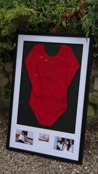 Beth Tweddle gym leotard.