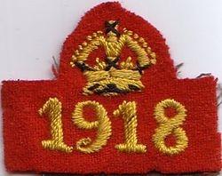 WW1 War Service Badge (1918)