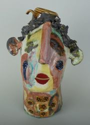 Mary Jones Ceramics.  A happy homely home.  SOLD   .