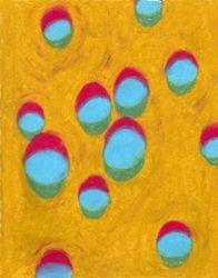 Encapsulating Moments, Oil Pastel, 11x14, Original Sold