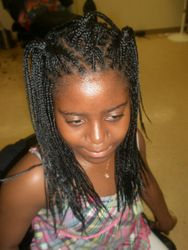 Box Braids by Bee with Extensions