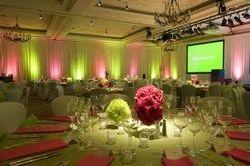 Wedding Uplighting and Lighting truss