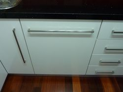 18. Integrated Dishwasher Panel.