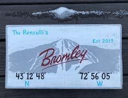 Ski Mountain Housewarming Gift