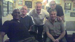 Clive Myers, Sid Cooper, Frank Rimer, Lee Bronson and Steve Grey