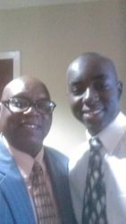 Pastor Cole and Brandon Cole