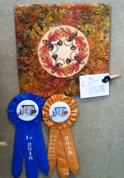 Judge's Choice and 1st Place - Art