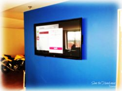 "51"" flat screen tv installation"