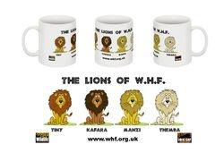 The Lions of WHF mug