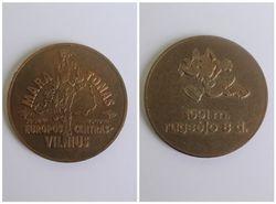 Medalis Europos centras Vilnius, 1991 09 08. Kaina 7