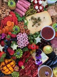 Fresh Seasonal Berries added to Platters