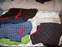 5 Jan 2010  -  Dog Coats.  Many thanks to Wilma