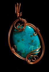 Turquoise in Copper