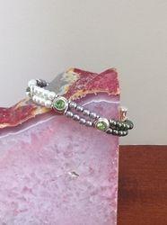 Shades of Peridot Pearls (Item #2205) $5.00