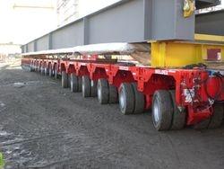 20 axle modular trailer