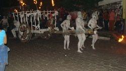 El desfile de carretas chillonas