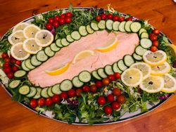 Large Salmon Platters