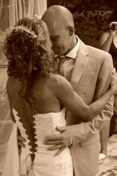 The first dance as Mr and Mrs