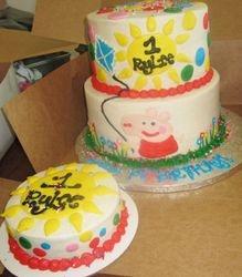 Peppa Pig 1st Birthday