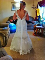 Dusty's Wedding Dress