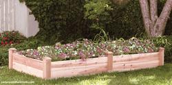 Raised planter beds