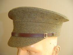 WW1  British SD cap (green cloth)  £85