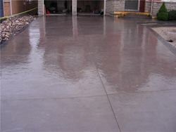 Two-Tone Curb and Driveway