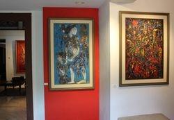 3 pemeluk teguh paintings